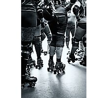 Roller derby team Photographic Print