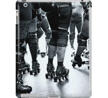 Roller derby team iPad Case/Skin