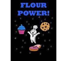 Flour Power! Photographic Print