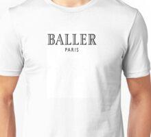 Baller Paris Designer Logo Unisex T-Shirt