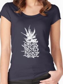 Love pineapple Women's Fitted Scoop T-Shirt