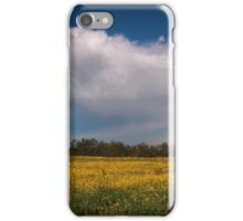 Stormcloud with canola iPhone Case/Skin