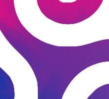 Bisexual Triskelion  Sticker