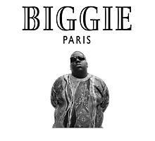 Biggie Smalls Paris - Notorious B.I.G Photographic Print
