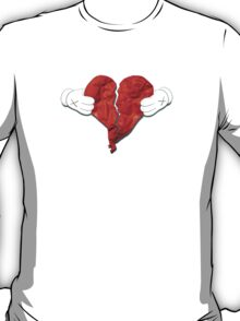 Kanye West 808s & Heartbreaks Deluxe Heart Art T-Shirt