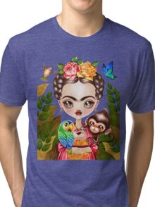 Frida Querida Tri-blend T-Shirt