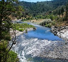 THE AMERICAN RIVER by fsmitchellphoto