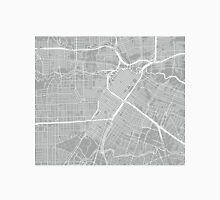 Houston Map - Light Grey Unisex T-Shirt