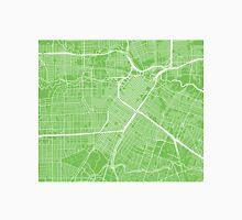Houston Map - Light Green Unisex T-Shirt