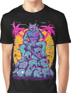 Hotline Miami - Owl Mask Graphic T-Shirt