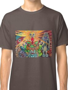 Ancient Aztec Gods of the Underworld Mictlan Classic T-Shirt