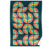 An abstract topography Poster