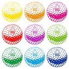 Golf tshirt - East Peak Apparel - Multi Coloured Golf Balls Print by springwoodbooks