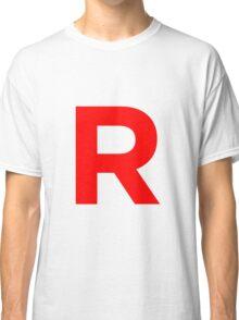 Team Rocket Pokemon Logo Classic T-Shirt