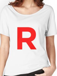 Team Rocket Pokemon Logo Women's Relaxed Fit T-Shirt