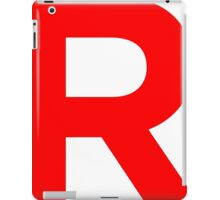 Team Rocket Pokemon Logo iPad Case/Skin