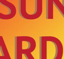 Sun Warden Sticker