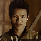 Young Burmese Man by wallarooimages