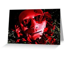 Beneath The Mask Greeting Card