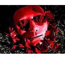 Beneath The Mask Photographic Print