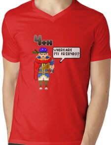 IKE in 4th place Mens V-Neck T-Shirt