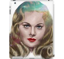 Jeanne Crain iPad Case/Skin