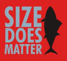 Size does matter Kids Tee