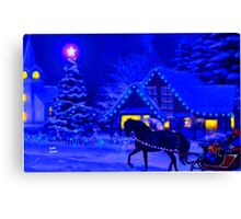 Oh Holy Night Canvas Print