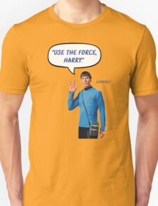 Use the force, Harry Unisex T-Shirt