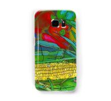 RainbowConfetti Farmers Market Corn on the Cob Samsung Galaxy Case/Skin