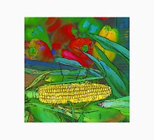 Rainbow Confetti Farmers Market Corn on the Cob Unisex T-Shirt