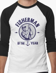 Fisherman of the year Men's Baseball ¾ T-Shirt