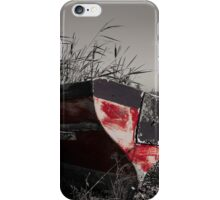 The old red boat iPhone Case/Skin