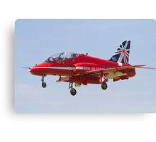 Red Arrows Farnborough Airshow Canvas Print