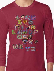 Saturday Morning Cartoons! Long Sleeve T-Shirt