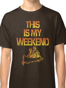 This Is My Weekend Boating Classic T-Shirt