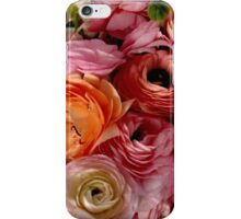 Flowers for Ellie - Bright Pink iPhone Case/Skin
