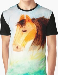 Horse Watercolor  Graphic T-Shirt