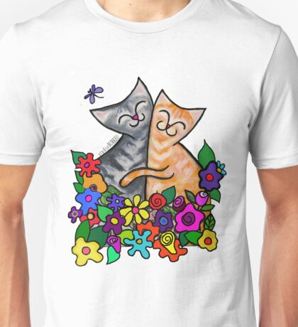 Studio Burke Kitty Hugs Gear! Unisex T-Shirt