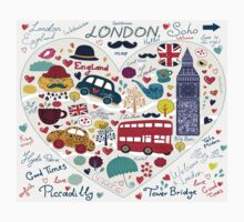 London Romantic A Kids Tee