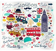 London Romantic A Poster