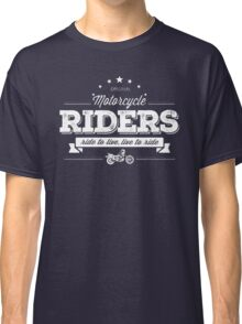 motorcycle Rides Classic T-Shirt
