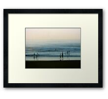 Seconds Framed Print