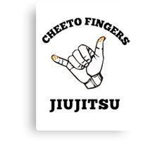 Cheeto Fingers Jiujitsu Canvas Print