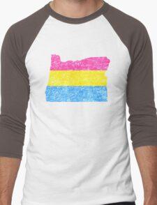 panOregon Men's Baseball ¾ T-Shirt