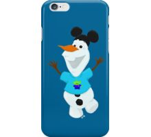 Olaf in Little Green Men Shirt  iPhone Case/Skin