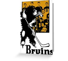 Bruins 1929 Yearbook - Fanned Shots Sports Apparel Greeting Card