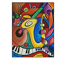 All that Jazz! Photographic Print