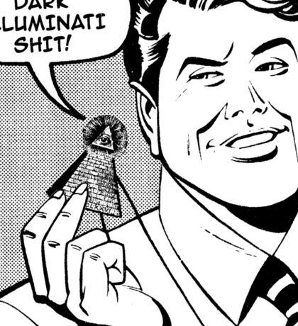 Dark Illuminati Shit. Sticker