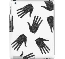 Black graphic arms iPad Case/Skin
